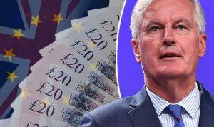 extortion the eu divorce bill somewhere north